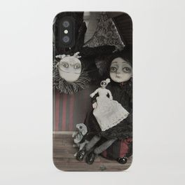 Vincent and Vanessa, the vampire children iPhone Case