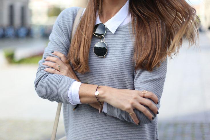 #raybansunglasses #grey #silvia #bartabacmode #bartabac #spanish #blogger #porto #lelovebracelet #lelovejewelry #lelove #jewellery #bracelet #silver #goldplated #cordbracelet