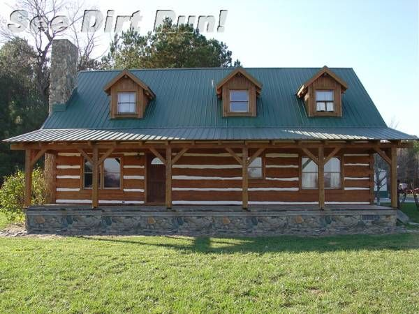 17 best images about log cabin on pinterest small log for Hewn log cabin kits