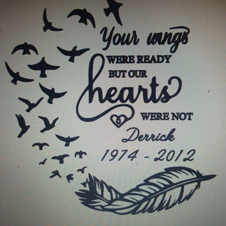 Creating Another Beautiful Memorial Decal For A Sweet