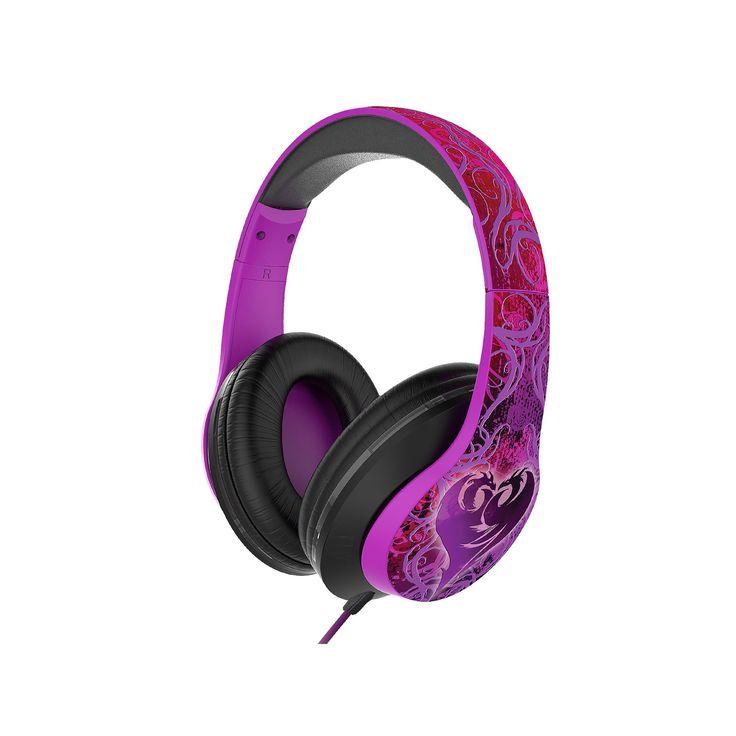 Disney's Descendants LED Color-Changing Headphones by iHome, Multicolor