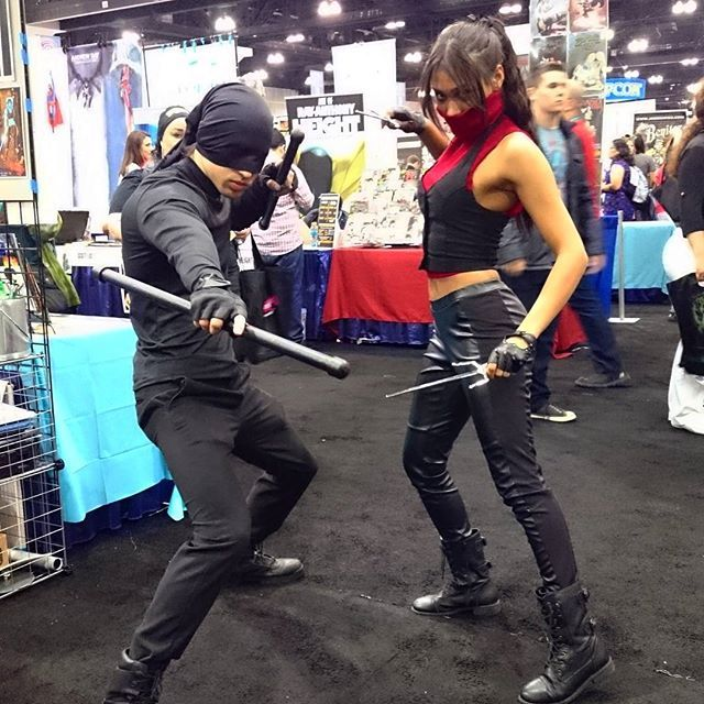 Elektra cosplay                                                                                                                                                                                 More