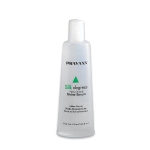 PRAVANA Silk Degrees - Shine Serum-  producto que enriquece el cabello con aminoácidos de seda, Keratina, proteína de trigo.