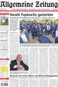 Allgemeine Zeitung - Daily German language newspaper in Namibia