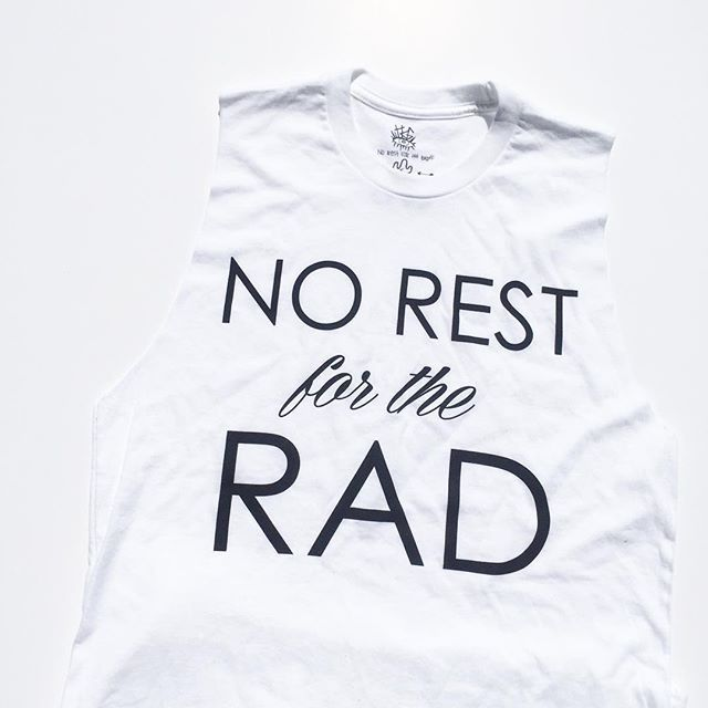 Adult Rad Tanks are stocked in sizes XS through Large and are the perfect go-to tank for all you rad gals. urbanbabyrunway.com