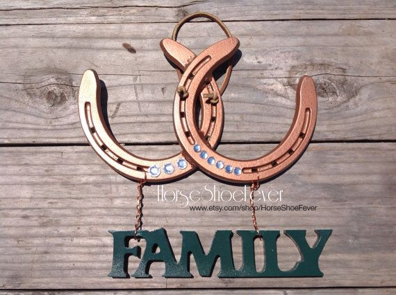 Decorative Horseshoe. Western Home Decor by HorseShoeFever. Country, Rustic, Modern, Farm, Ranch, Cowgirl, Cowboy, Horses, Rodeo, Wall Art, Birthday, Graduation, Christmas, Gift Idea, Present Ideas
