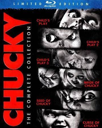 Chucky: Complete Collection Blu-ray Region A