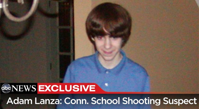 """EXCLUSIVE: First photo of Newtown, Connecticut shooting suspect Adam Lanza, circa 2005. Lanza killed 20 children and six adults at Sandy Hook Elementary School in Newtown, Connecticut earlier this morning.     Story: Connecticut Shooter Adam Lanza; """"Obviously Not Well"""" http://abcn.ws/Z6HDM1    Live updates: http://abcn.ws/UMG79i    Update: Nancy Lanza, the mother of gunman Adam Lanza, was found dead in her Connecticut home, not at the elementary school."""