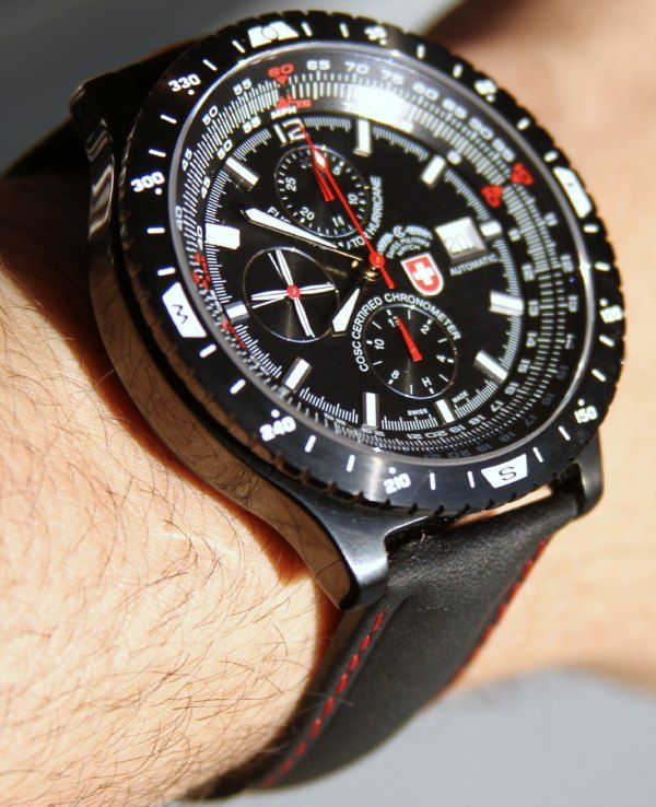 CX Swiss Military Hurricane Watch Review