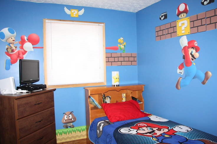 diy super mario room this is happening at the shealy house in 2