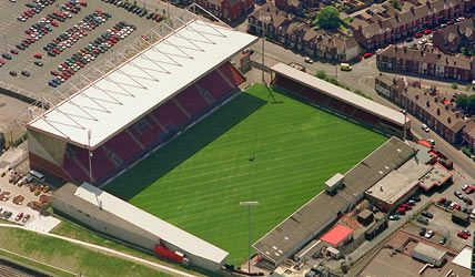 The Alexandra Stadium - Crewe Alexandra FC