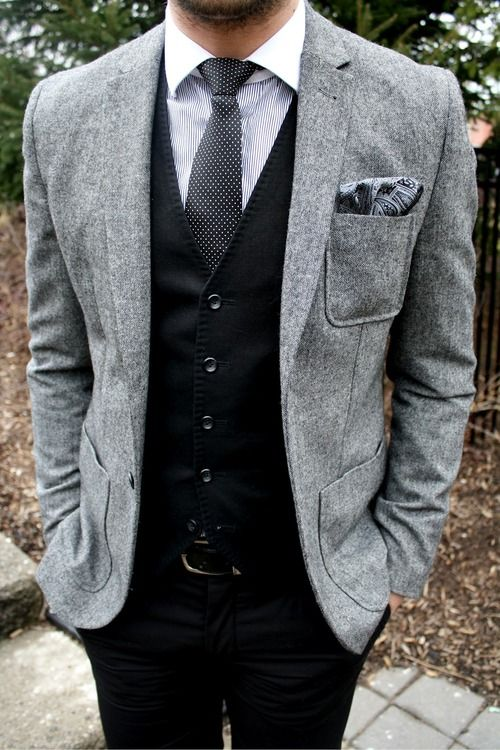 monochromatic #menswear
