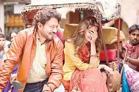 CRB Tech reviews over here shares about the movie Hindi Medium.  Irrfan Khan who is popular in Bollywood for his awesome performance, his first look from the movie 'Hindi Medium' has been launched.  That's great!  Irrfan for the first time will be seen in the loving personality. Pakistani celebrity Saba Qamar will be seen opposite to him in this movie.