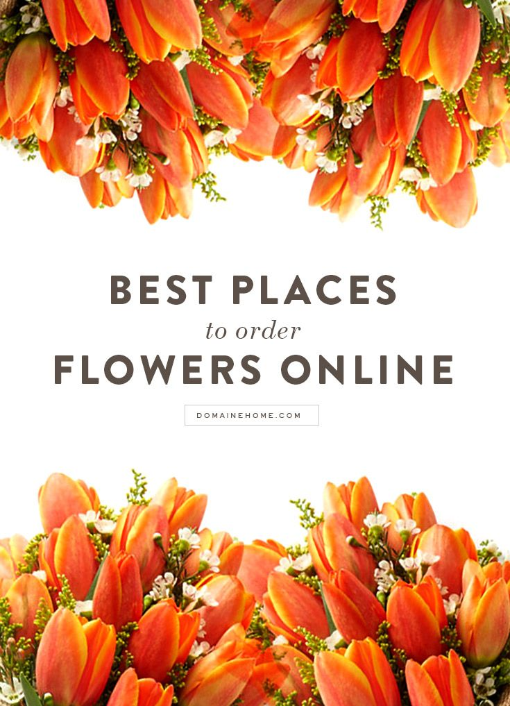 In case you didn't know where to go for your blooms.