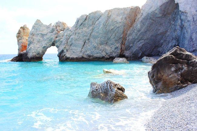 Trip around Skiathos: Lalaria beach
