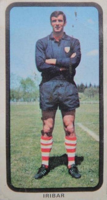 Iríbar. 1974-75. Athletic Club de Bilbao. Cromos Ruiz Romero.