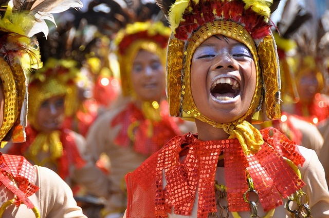 I want to go to a festival in the Philippines