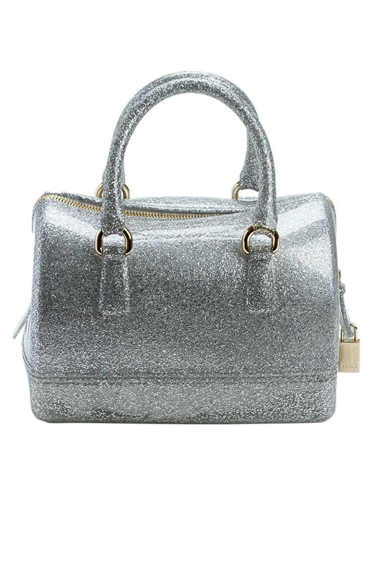Michael kors tote bags philippines - Furla Candy Cookie Mini Satchel In Silver