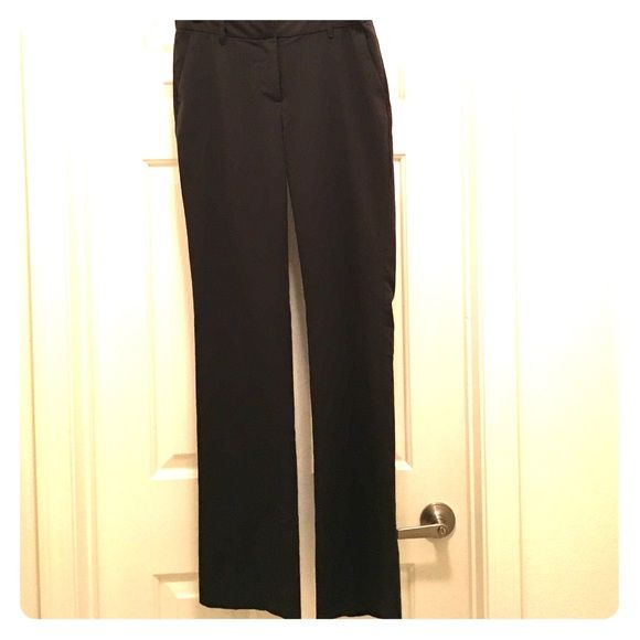 Dark grey suit pants Dark grey suit pants.  Hook closure. Great for business casual! Pants Straight Leg