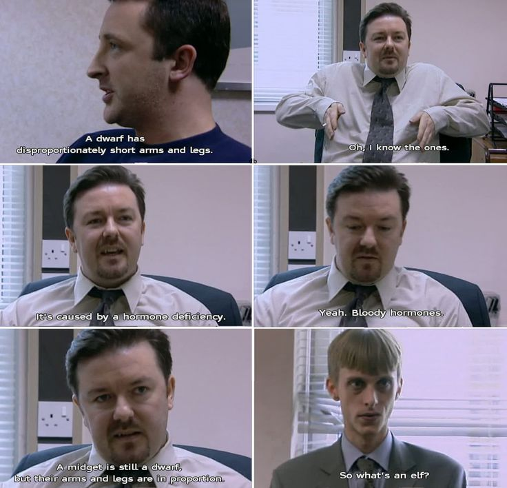 Ricky Gervais, The Office.