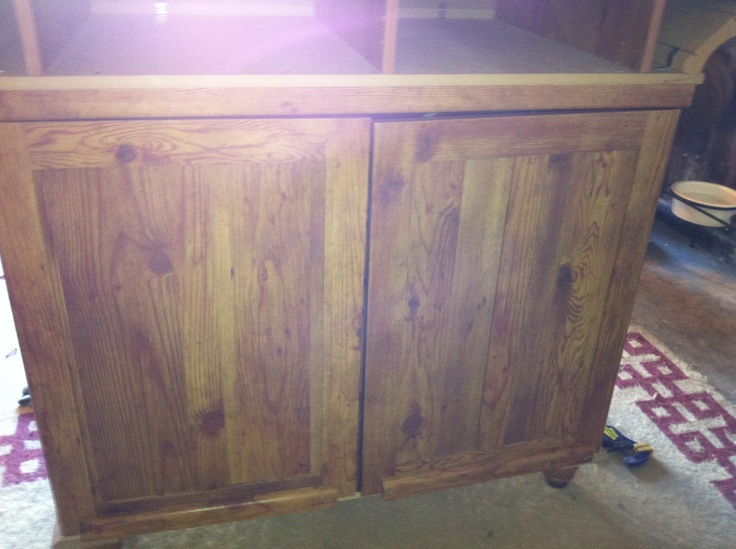 the front of the dresser is now the back of the bar complete with a liquor cabinetthe