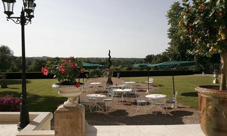 Hotel Chateau de Pray in Amboise-Chargé, France #hotel #chateau #view #park
