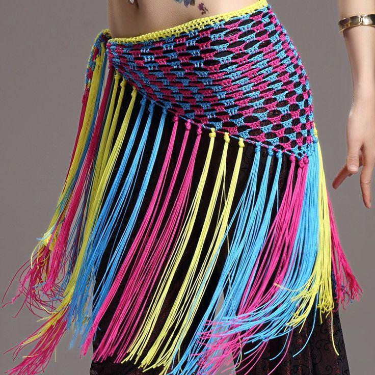 Cheap Multicolor de danza del vientre ropa accesorios de entrenamiento elástico…