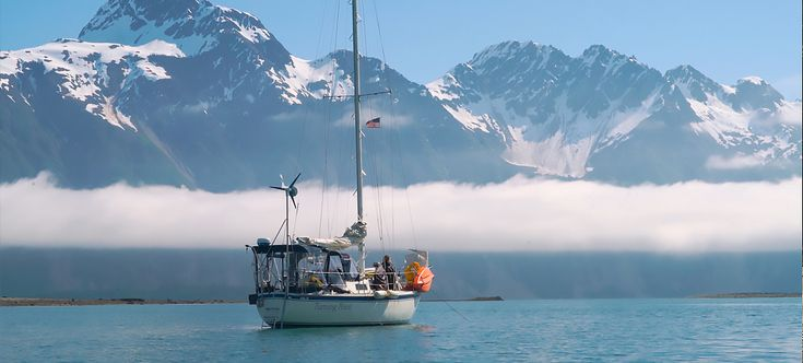 Adventurous Couple Living on a Sailboat Year-Round in Alaska