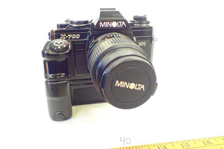 MINOLTA X-700 MPS 135mm 1:35 Japan 49mm w/  MOTOR DRIVE 1          {40} #Minolta