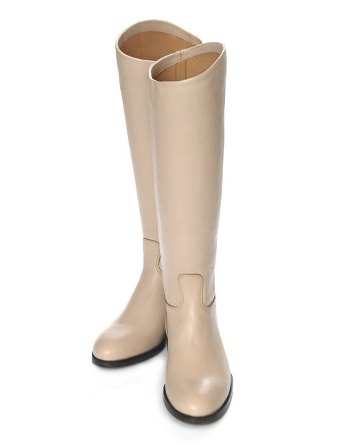 Riding boots Beige