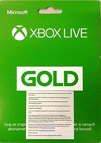 Microsoft Xbox LIVE 12 Month Gold Membership for Xbox 360 / XBOX ONE (Worldwide Edition) #tech