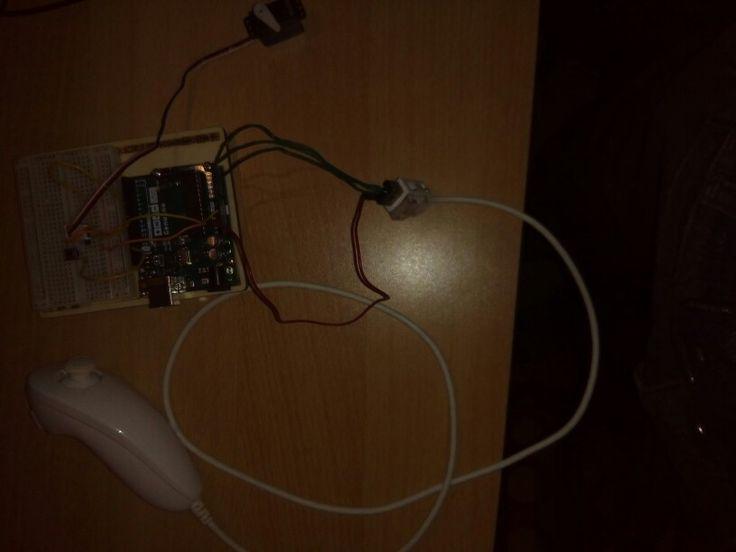 Arduino collegato al nunchuk