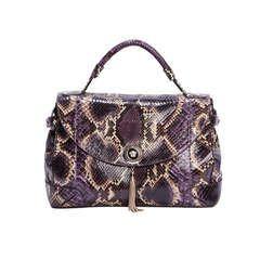 VERSACE Python Vanitas Altea Handbag