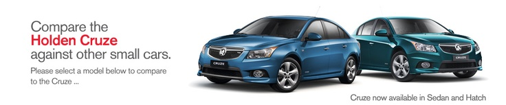 Small Cars Compared - Holden Cruze, Toyota Corolla, Mazda 3, Ford Focus, Mitsubishi Lancer, Hyundai i30