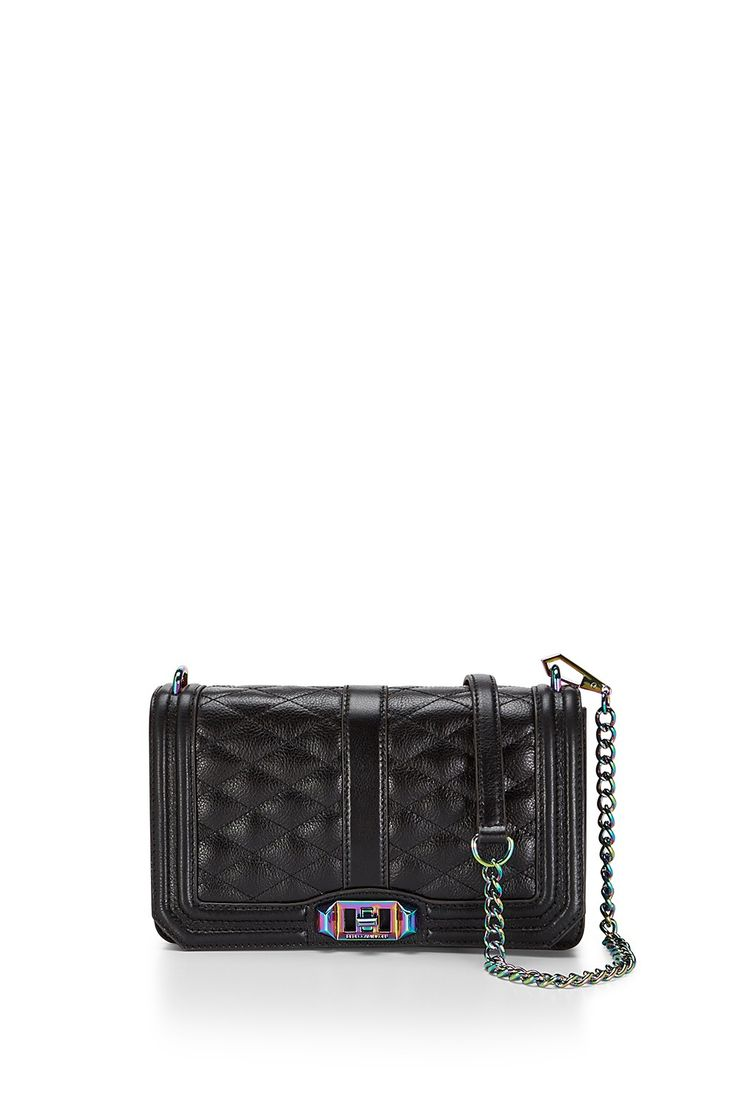 Love Crossbody  - Meet your new going-out bag. Featuring eye catching hardware, the Love Crossbody is a match made in heaven with any outfit. Wear it crossbody or remove the chain strap to use it as a clutch.