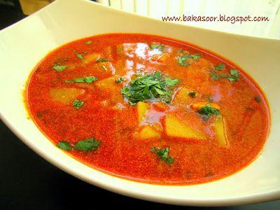 BaKaSoor..potato or fish curry marathi style
