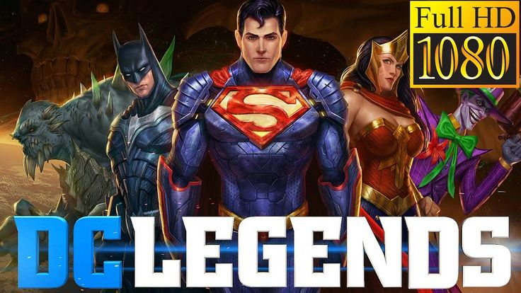 DC Legends Game Review 1080p Official Warner Bros Role Playing 2016
