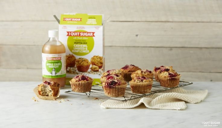 Looking for a healthy dessert? Our Muffin mix is great for adding your own flavours. You could use blueberries, raspberries or coconut... The options are endless. Now available at Woolworths. – I Quit Sugar