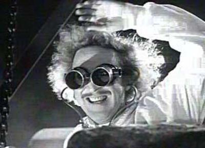 That's Frankensteen to youPronounce Fronkensteen, Gene Wilderness, Young Dr., Funny, Young Frankenstein Y, Frederick Frankenstein, Mad Scientists, People, Halloween