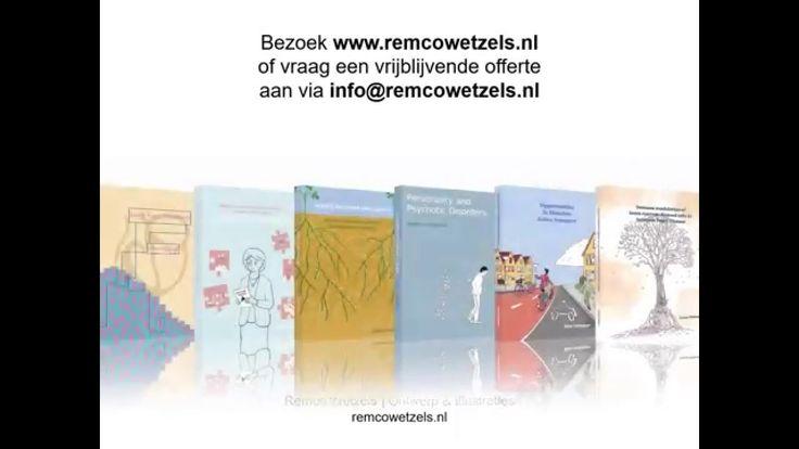 Het ontwerpproces voor de omslag van een proefschrift in beeld gebracht. Door Remco Wetzels | Ontwerp & Illustraties. Meer weten? Mail me op info@remcowetzel...
