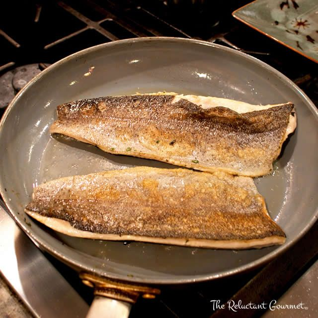 PAN FRIED FRESH RAINBOW TROUT - The fresher the trout, the better the meal especially if you follow the cooking tips I offer with this simple but delicious seafood dinner.  Recipe at -->> http://www.reluctantgourmet.com/how-to-cook-rainbow-trout-filets/