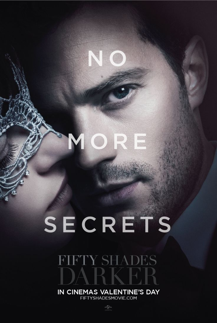 The mask will come off and secrets will be revealed | Fifty Shades Darker Movie | In theaters Valentine's Day.