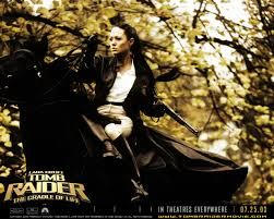 Image result for lara croft black horse