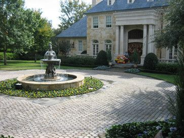 Fountains - traditional - landscape - dallas - Harold Leidner Landscape Architects
