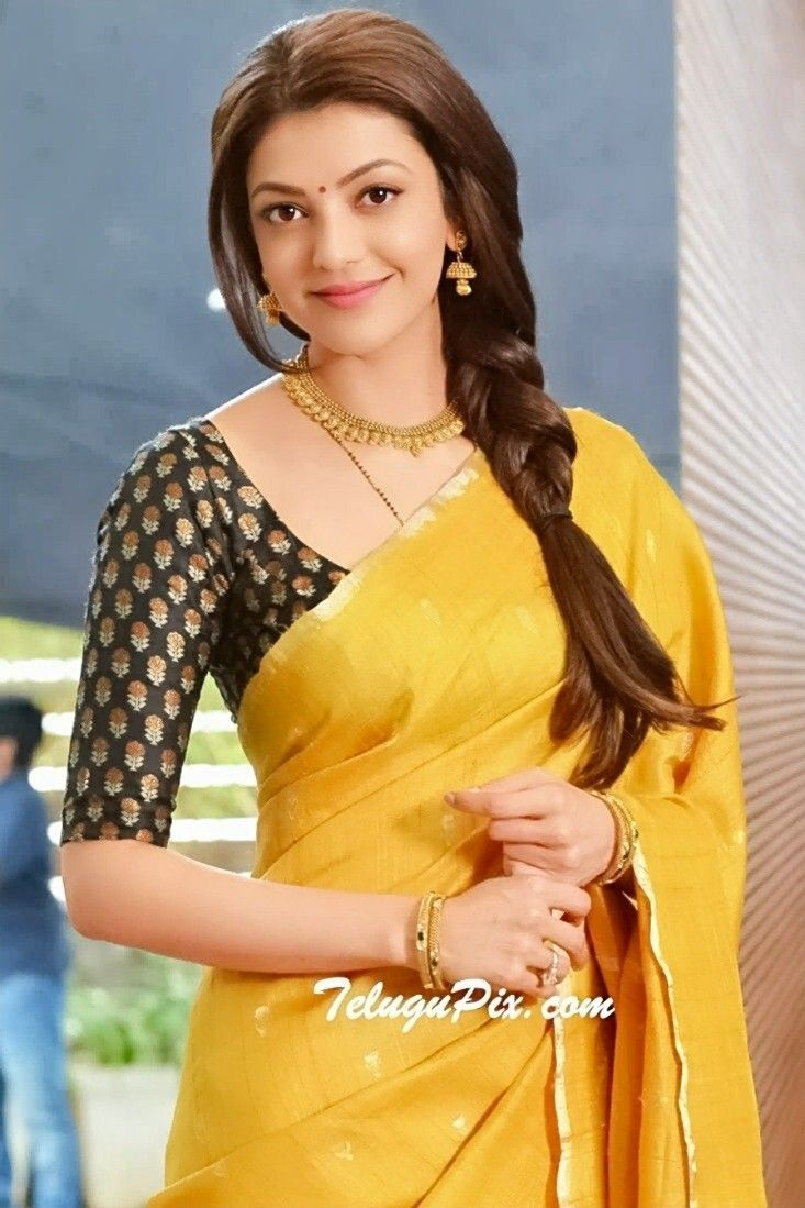 Kajal Aggarwal Indian Fashion Saree Bollywood Fashion Beautiful Indian Actress