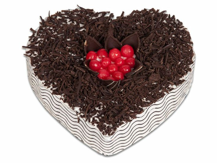 24 best popular cakes images on pinterest baking products big heart shape cake are famous on valentines day birthday etc heart shape actually symbolizes love buy black forest cake at best price at monginis shop sciox Image collections