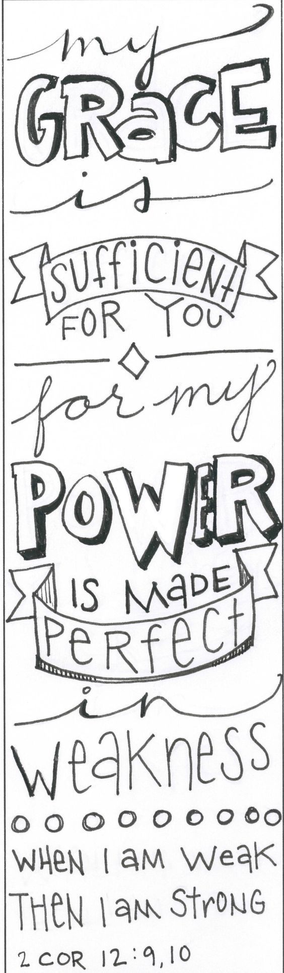 Religious bookmarks to color - Free Printables For Bible Journaling