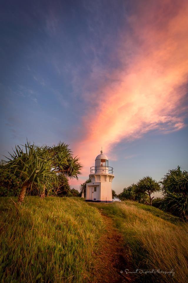 Lighthouse at Fingal Head  NSW Australia