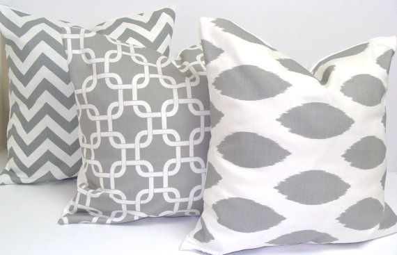 this etsy shop has way too many amazing pillows!: Pillows Covers, Etsy Pillows, Decor Ideas, Cutest Pillows, White Pillows, Throw Pillows, Grey Pillows, Pillows Sets, Gray Pillows