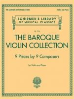 DIVERSE - THE BAROQUE VIOLIN COLLECTION - € 26,25 Viool klassiek, Viool/Piano, SCHIRMER HL50499629